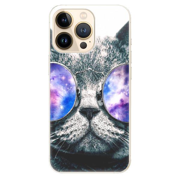 Odolné silikonové pouzdro iSaprio - Galaxy Cat - iPhone 13 Pro Max
