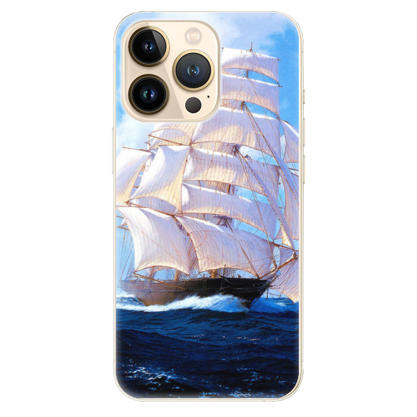 Odolné silikonové pouzdro iSaprio - Sailing Boat - iPhone 13 Pro Max