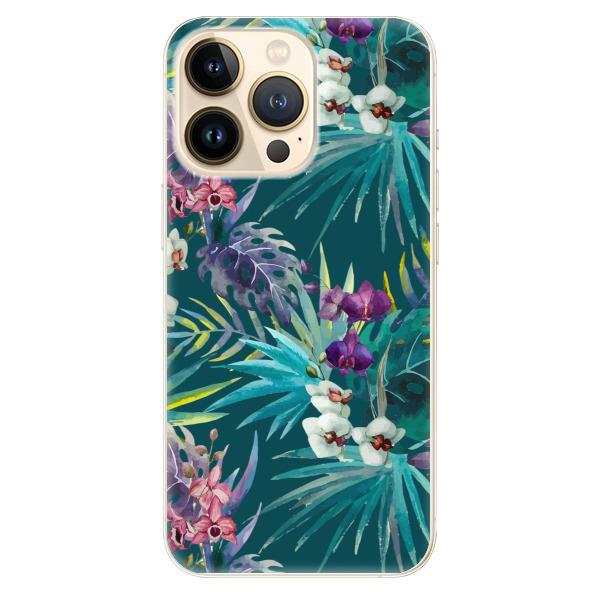 Odolné silikonové pouzdro iSaprio - Tropical Blue 01 - iPhone 13 Pro Max