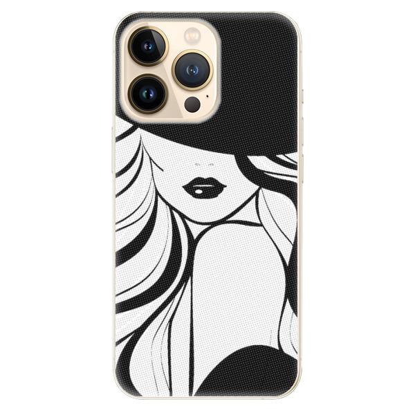 Odolné silikonové pouzdro iSaprio - First Lady - iPhone 13 Pro Max