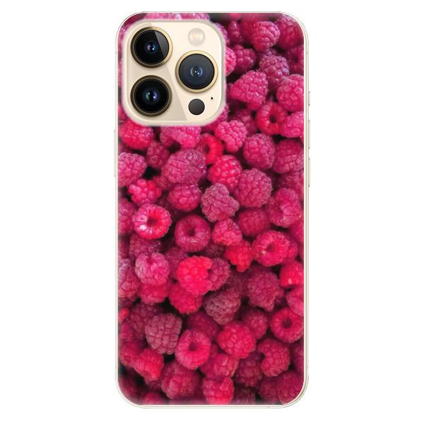 Odolné silikonové pouzdro iSaprio - Raspberry - iPhone 13 Pro Max