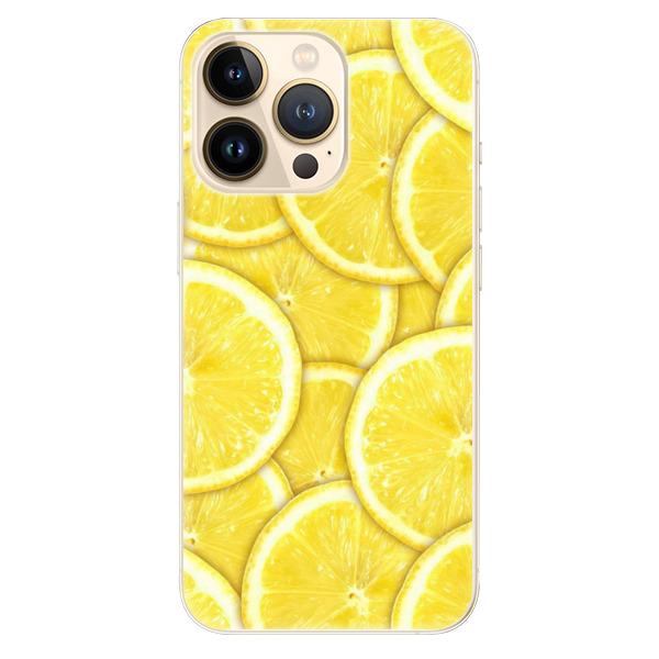 Odolné silikonové pouzdro iSaprio - Yellow - iPhone 13 Pro Max
