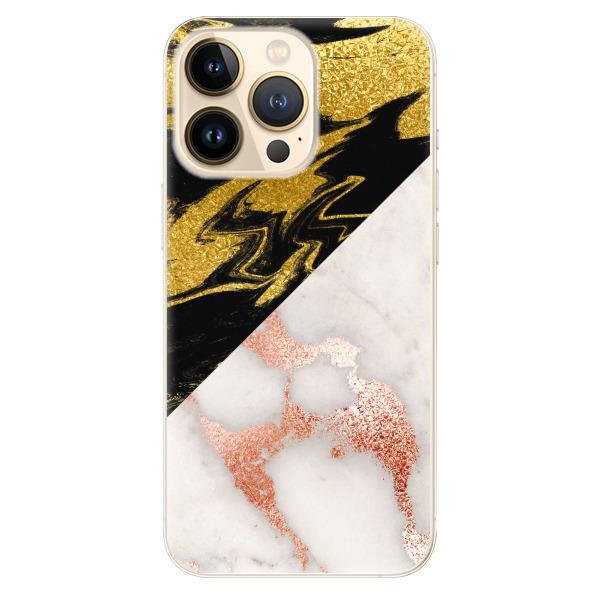 Odolné silikonové pouzdro iSaprio - Shining Marble - iPhone 13 Pro Max