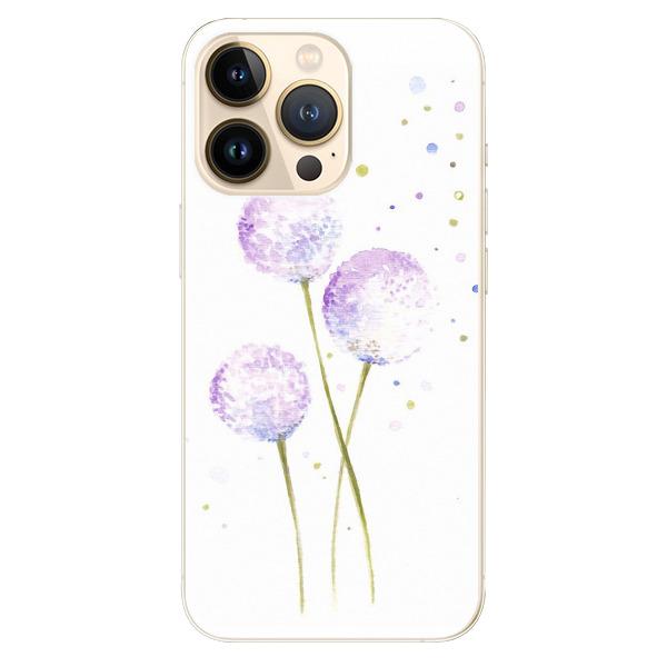 Odolné silikonové pouzdro iSaprio - Dandelion - iPhone 13 Pro Max