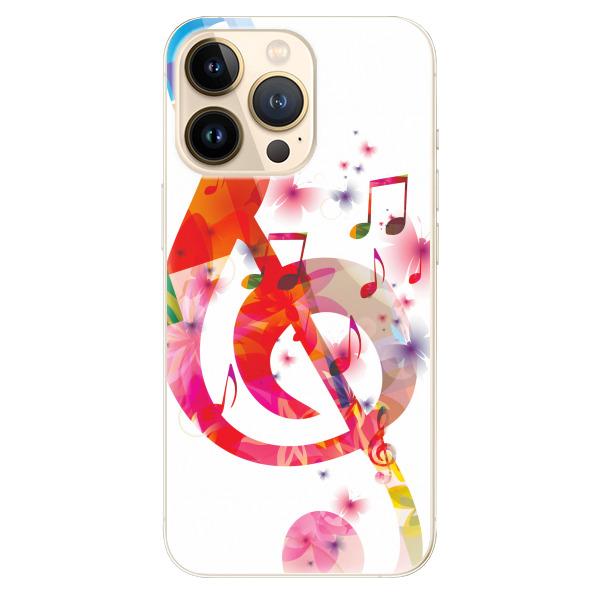 Odolné silikonové pouzdro iSaprio - Love Music - iPhone 13 Pro Max