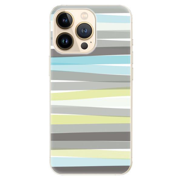 Odolné silikonové pouzdro iSaprio - Stripes - iPhone 13 Pro Max