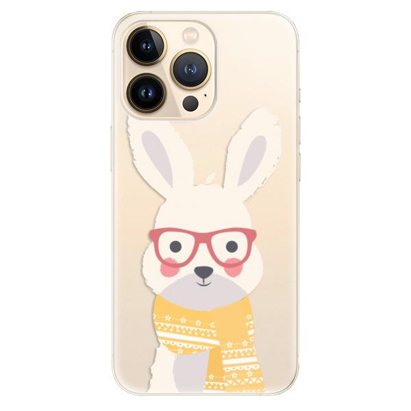 Odolné silikonové pouzdro iSaprio - Smart Rabbit - iPhone 13 Pro Max