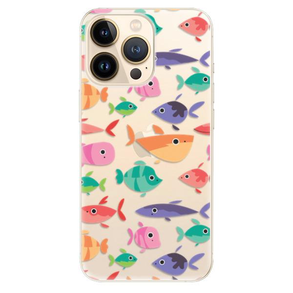 Odolné silikonové pouzdro iSaprio - Fish pattern 01 - iPhone 13 Pro Max