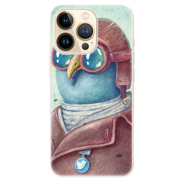 Odolné silikonové pouzdro iSaprio - Pilot twitter - iPhone 13 Pro Max