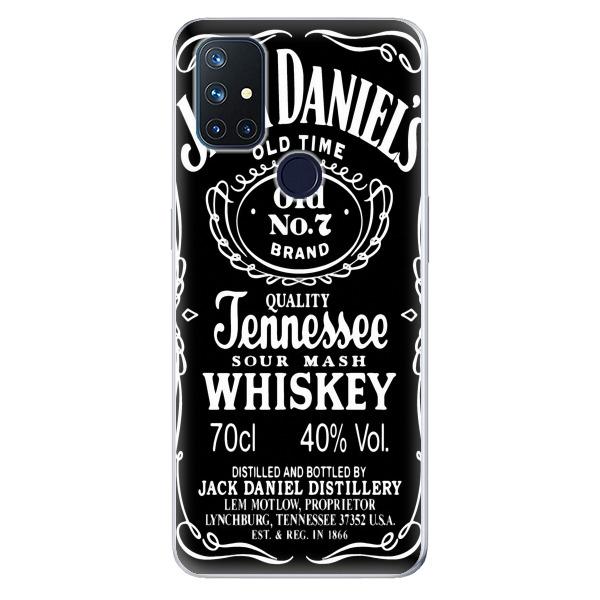 Odolné silikonové pouzdro iSaprio - Jack Daniels - OnePlus Nord N10 5G