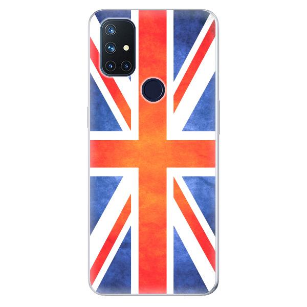 Odolné silikonové pouzdro iSaprio - UK Flag - OnePlus Nord N10 5G