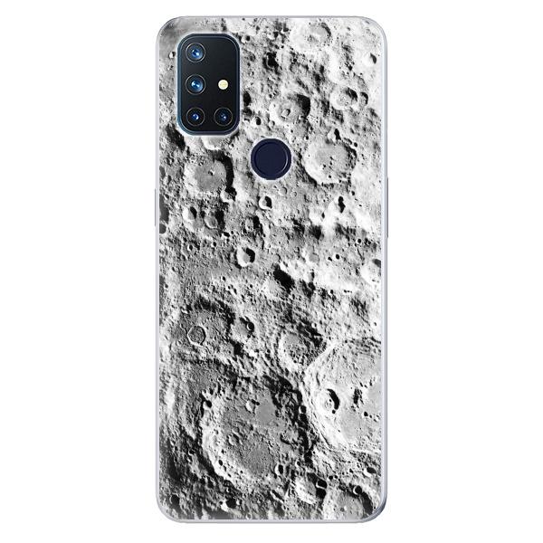 Odolné silikonové pouzdro iSaprio - Moon Surface - OnePlus Nord N10 5G