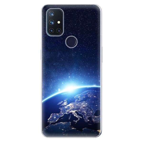 Odolné silikonové pouzdro iSaprio - Earth at Night - OnePlus Nord N10 5G