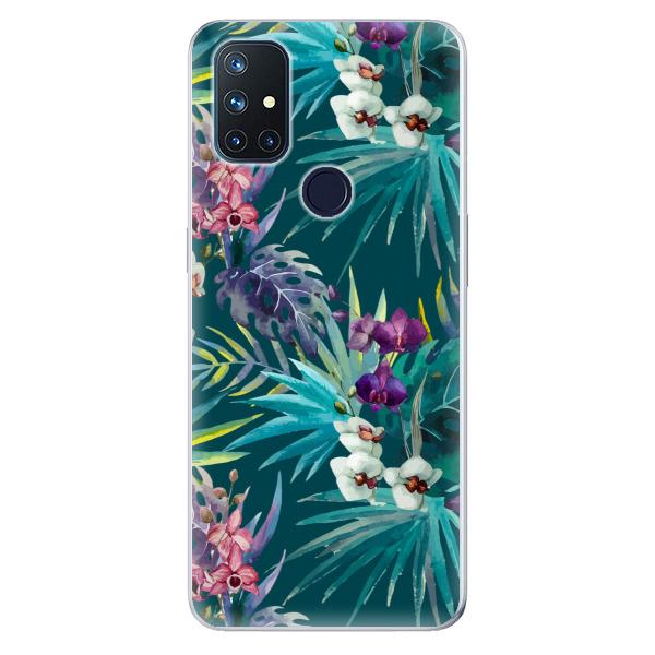 Odolné silikonové pouzdro iSaprio - Tropical Blue 01 - OnePlus Nord N10 5G