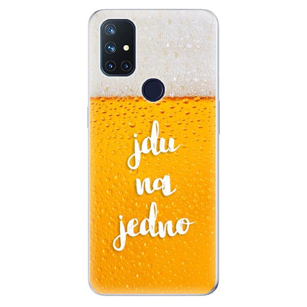 Odolné silikonové pouzdro iSaprio - Jdu na jedno - OnePlus Nord N10 5G