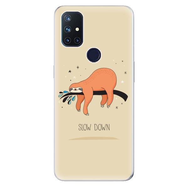 Odolné silikonové pouzdro iSaprio - Slow Down - OnePlus Nord N10 5G