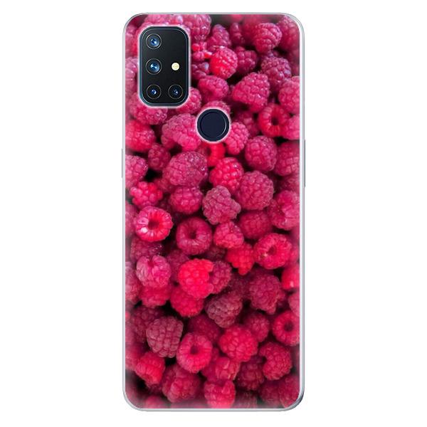 Odolné silikonové pouzdro iSaprio - Raspberry - OnePlus Nord N10 5G