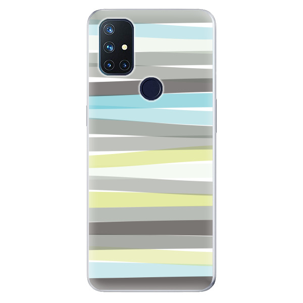 Odolné silikonové pouzdro iSaprio - Stripes - OnePlus Nord N10 5G