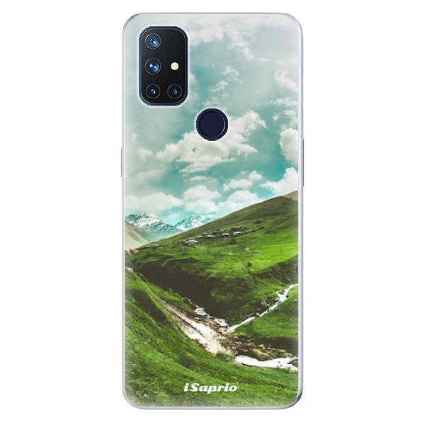 Odolné silikonové pouzdro iSaprio - Green Valley - OnePlus Nord N10 5G