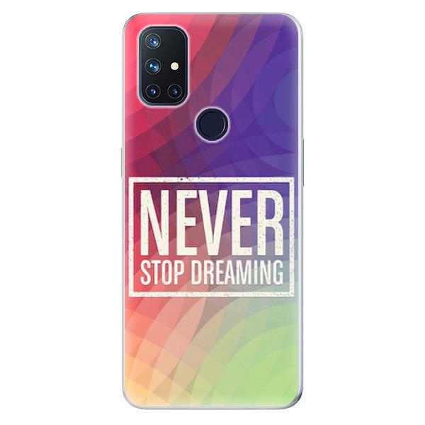Odolné silikonové pouzdro iSaprio - Dreaming - OnePlus Nord N10 5G