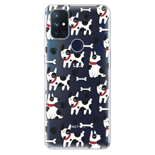 Odolné silikonové pouzdro iSaprio - Dog 02 - OnePlus Nord N10 5G