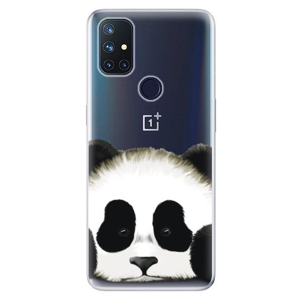 Odolné silikonové pouzdro iSaprio - Sad Panda - OnePlus Nord N10 5G