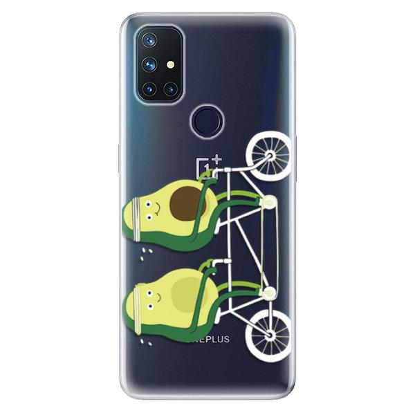 Odolné silikonové pouzdro iSaprio - Avocado - OnePlus Nord N10 5G