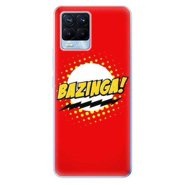 Odolné silikonové pouzdro iSaprio - Bazinga 01 - Realme 8 / 8 Pro
