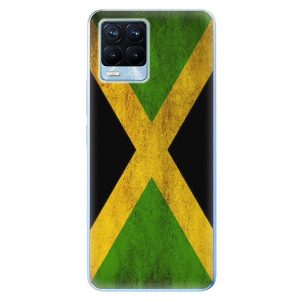 Odolné silikonové pouzdro iSaprio - Flag of Jamaica - Realme 8 / 8 Pro