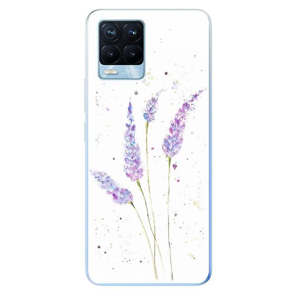Odolné silikonové pouzdro iSaprio - Lavender - Realme 8 / 8 Pro