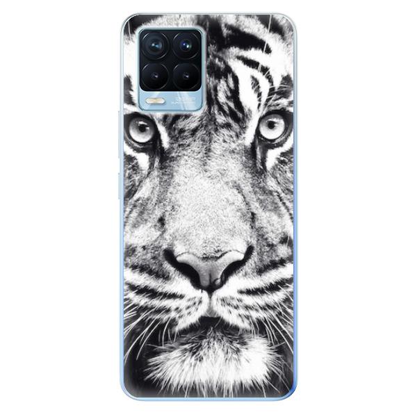 Odolné silikonové pouzdro iSaprio - Tiger Face - Realme 8 / 8 Pro