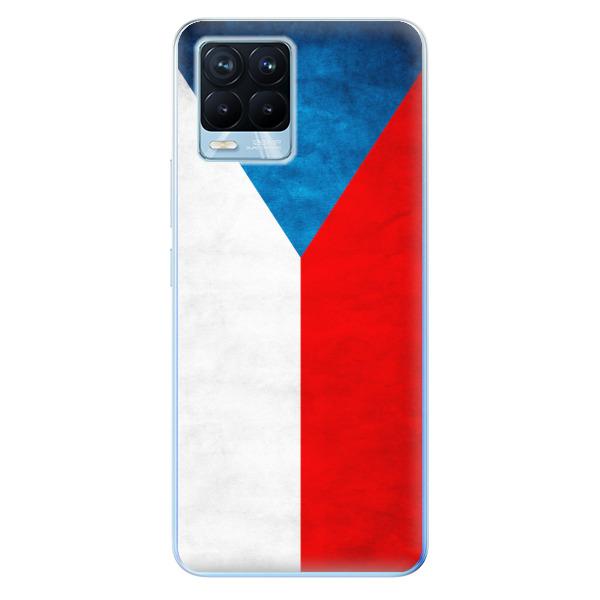 Odolné silikonové pouzdro iSaprio - Czech Flag - Realme 8 / 8 Pro