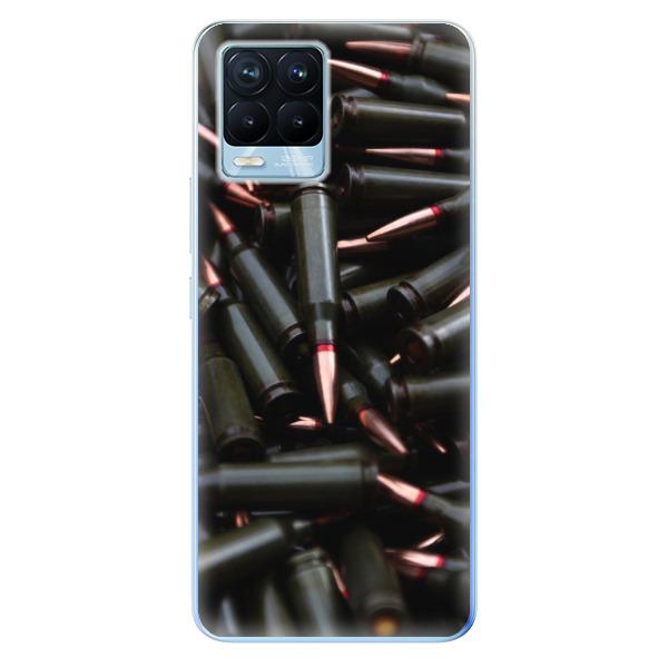 Odolné silikonové pouzdro iSaprio - Black Bullet - Realme 8 / 8 Pro