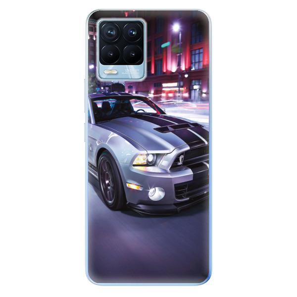 Odolné silikonové pouzdro iSaprio - Mustang - Realme 8 / 8 Pro