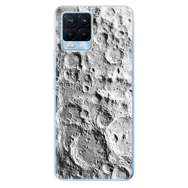 Odolné silikonové pouzdro iSaprio - Moon Surface - Realme 8 / 8 Pro