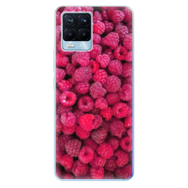 Odolné silikonové pouzdro iSaprio - Raspberry - Realme 8 / 8 Pro