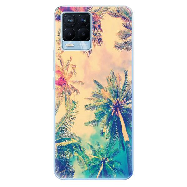 Odolné silikonové pouzdro iSaprio - Palm Beach - Realme 8 / 8 Pro