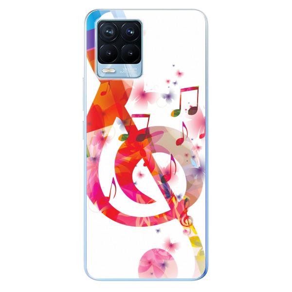 Odolné silikonové pouzdro iSaprio - Love Music - Realme 8 / 8 Pro