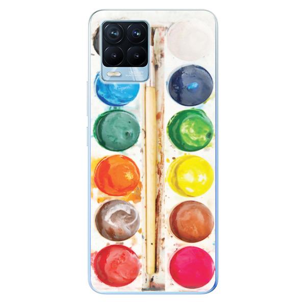 Odolné silikonové pouzdro iSaprio - Watercolors - Realme 8 / 8 Pro