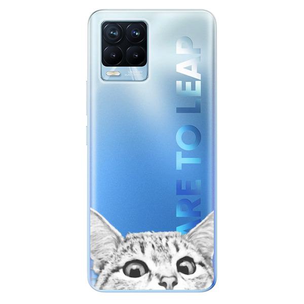 Odolné silikonové pouzdro iSaprio - Cat 02 - Realme 8 / 8 Pro