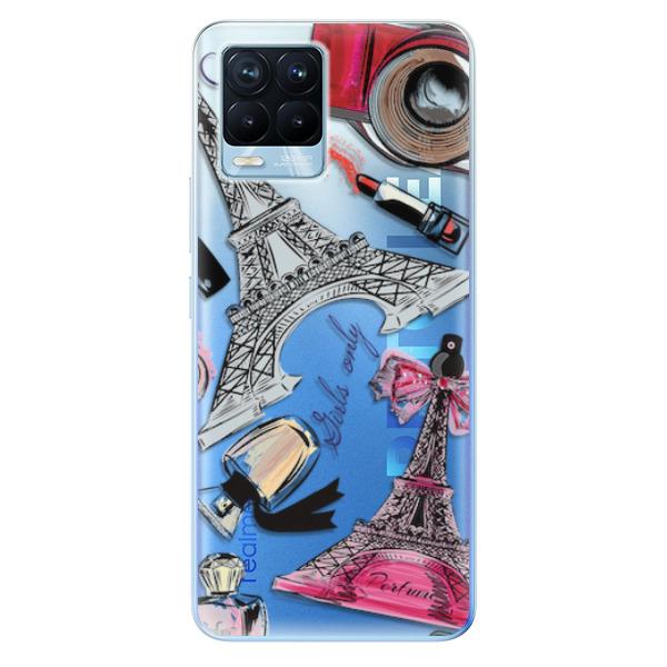 Odolné silikonové pouzdro iSaprio - Fashion pattern 02 - Realme 8 / 8 Pro