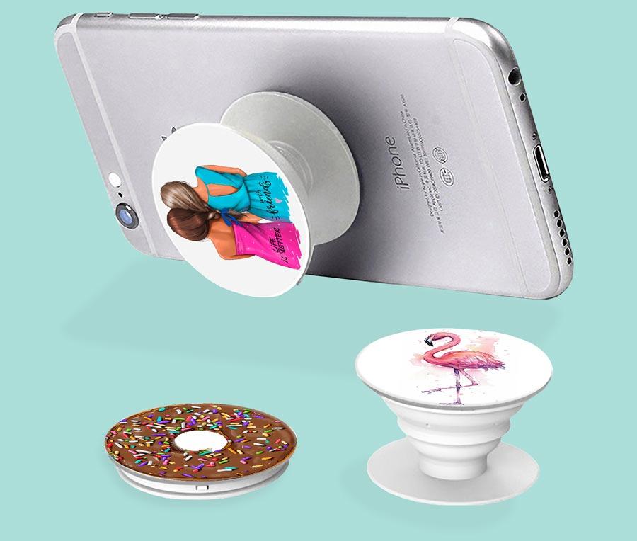 PopSocket iSaprio – White Marble 01 – držák na mobil