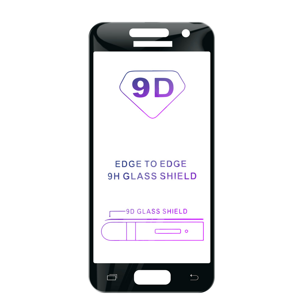 Tvrzené sklo iSaprio 9D BLACK pro Samsung Galaxy A5 2017