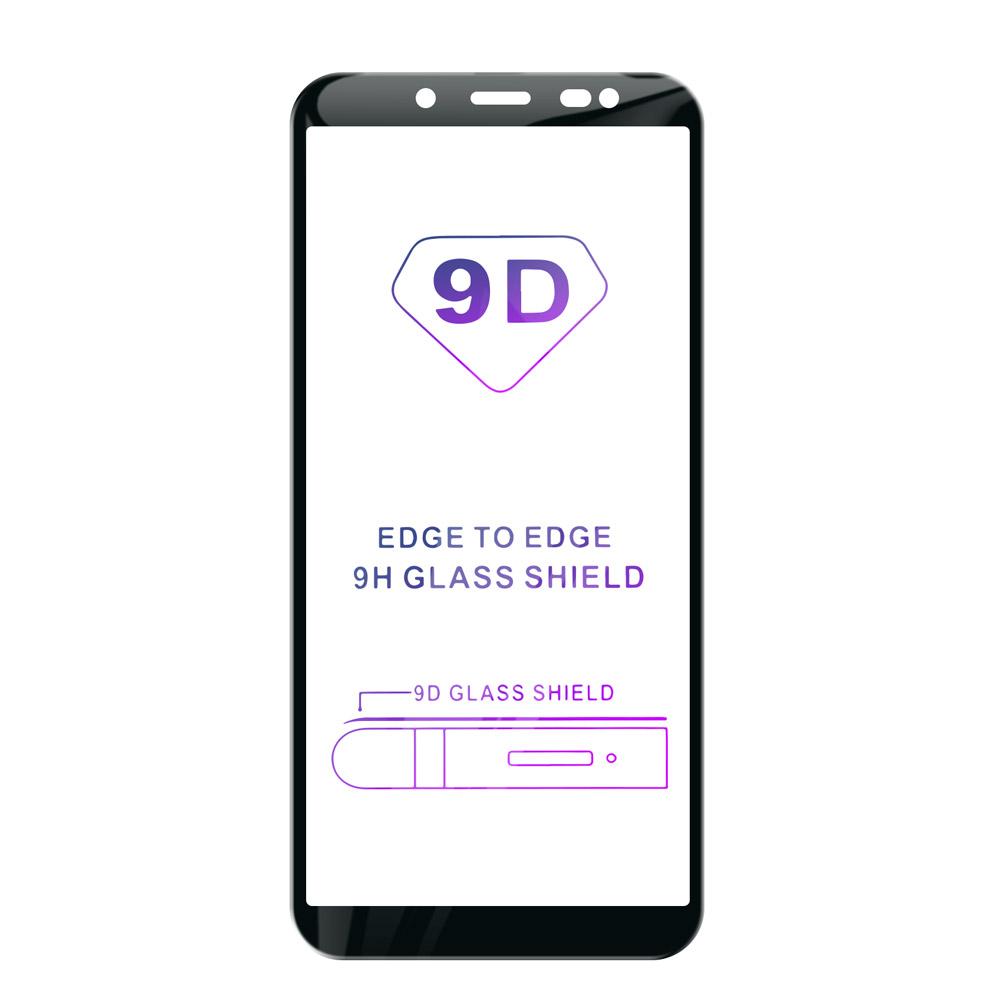 Tvrzené sklo iSaprio 9D BLACK pro Samsung Galaxy A6