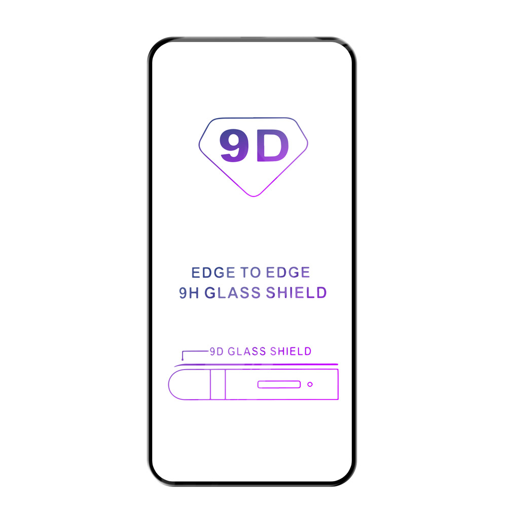 Tvrzené sklo iSaprio 9D BLACK pro Samsung Galaxy A80
