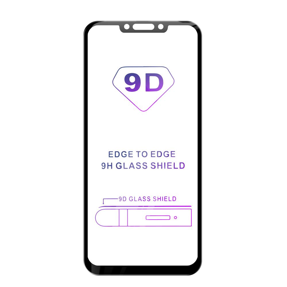 Tvrzené sklo iSaprio 9D BLACK pro Huawei Mate 20 Lite