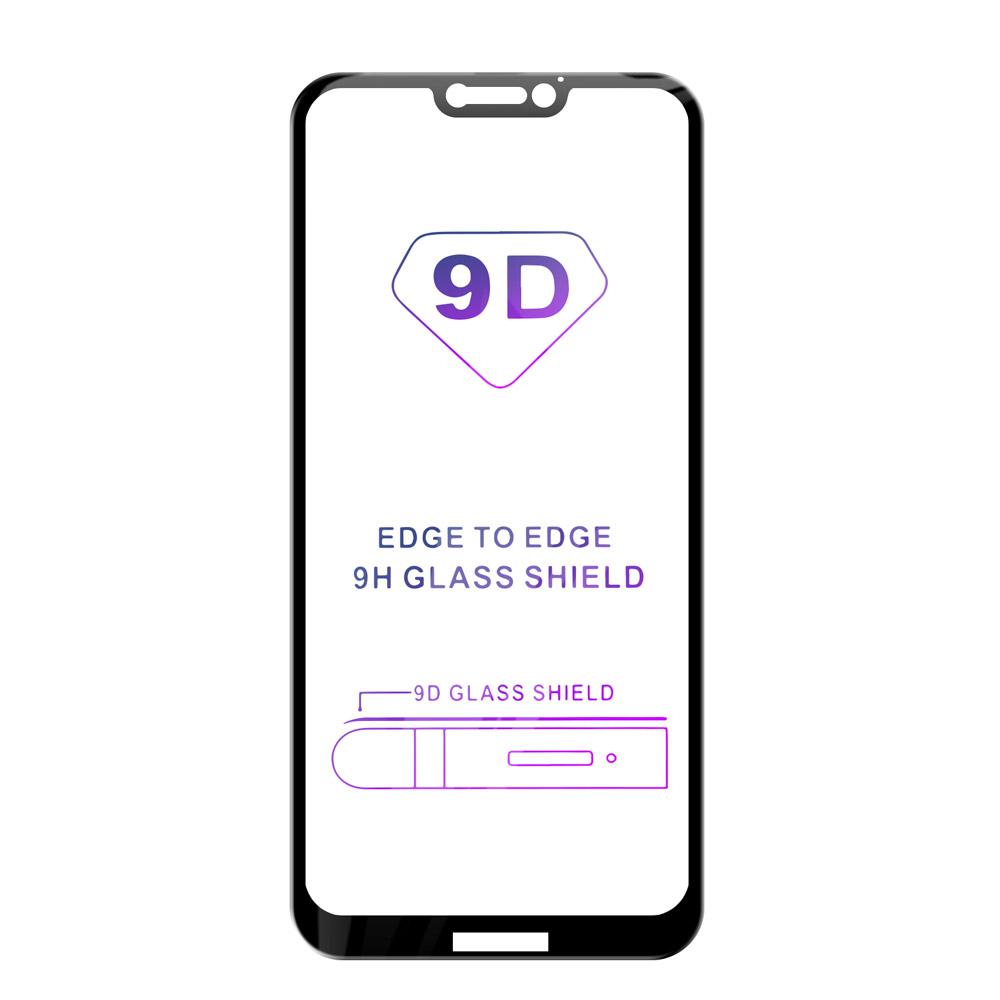 Tvrzené sklo iSaprio 9D BLACK pro Huawei P20 Lite