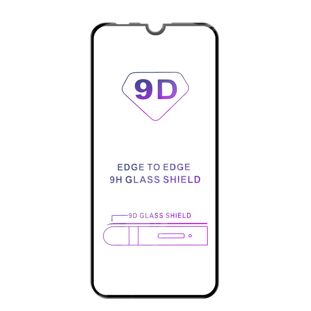 Tvrzené sklo iSaprio 9D BLACK pro Huawei P Smart 2019
