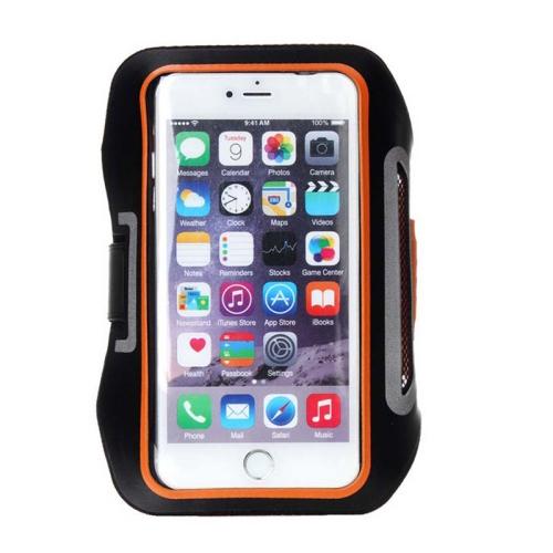 Sportovní pouzdro pro iPhone 6 Plus / Samsung Galaxy Note 5 / Note 4 / Note 3 / Note 2 / Note 1 oranžové