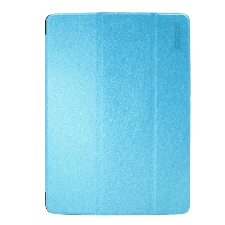 Kožený kryt / pouzdro Smart Cover iSaprio pro iPad 9.7 (2017) modrý